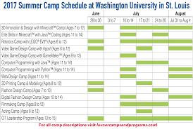 St Louis Metro Map by St Louis Summer Camps At Washington U Tech Camps U0026 Art