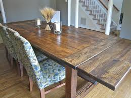 Rustic Farmhouse Dining Table And Chairs Rustic Dining Table Set Farmhouse With Bench How To Make A Look