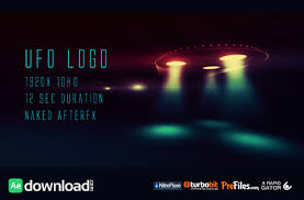 ufo logo videohive project free download free after effects