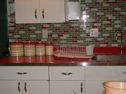 red vintage kitchen kitchentoday
