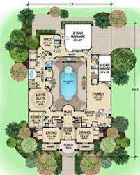 home plans with pools pictures home plans center courtyard pool home