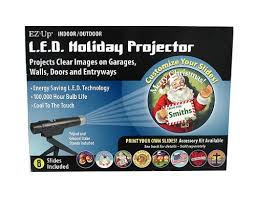 ez up indoor outdoor led light projector with