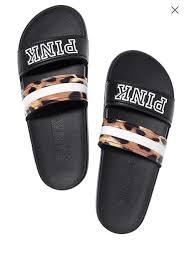 pink slides s secret pink ruby slip slides sandals size m 7 8 ebay