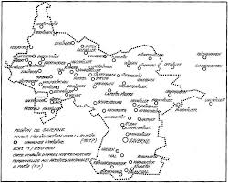 Alsace France Map by Germans From Russia Heritage Collection