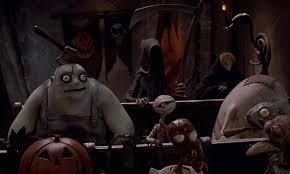 the nightmare before christmas review tim burton halloween town