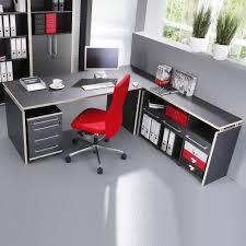 Schreibtisch Winkelkombination Büromöbel Mongo In Anthrazit Mit Schreibtisch Pharao24 De