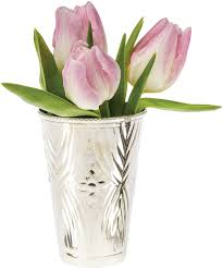 Personalized Flower Vases Mint Julep Cups