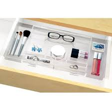 Bathroom Drawer Organizer by Amazon Com Expandable Hanging Makeup U0026 Vanity Organizer Expands