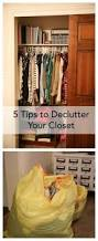 51 best idea room organization tips images on pinterest kitchen sharing 5 tips to declutter your closet in a way that is not overwhelming see