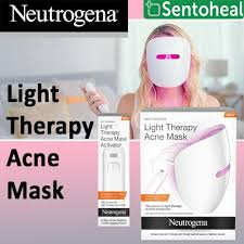 neutrogena light therapy acne mask before and after qoo10 light therapy acne skin care