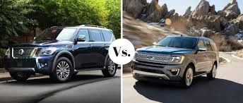 2018 nissan armada vs 2018 ford expedition