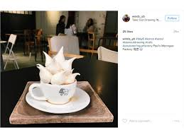 meringue coffee is the latest cafe confection fn dish behind