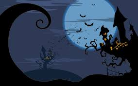 free halloween tiled background free halloween backgrounds wallpapers