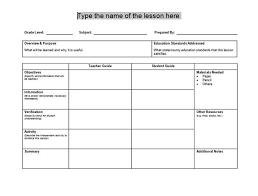 best 25 lesson plan templates ideas on pinterest kindergarten