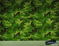woodland green military combat camo camouflage wall mural 6064
