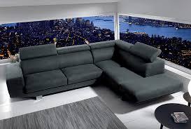 cocktail scandinave canapé canapé d angle oakley coloris gris clair havane ou anthracite meuble