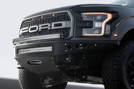 Ford Raptor Led Light Bar by 2017 Ford Raptor Venom R Winch Front Bumper