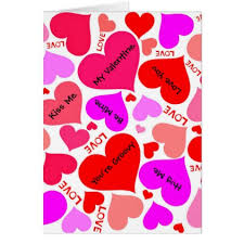 valentines heart candy sayings vintage heart candy sayings card boyfriend