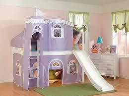 diy girls loft bed bunk beds with slides vnproweb decoration