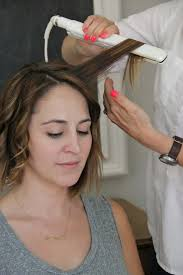best size curling iron for medium length hair how to curl shoulder length hair with a flat iron hair world