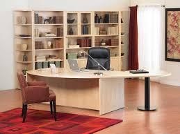 Modular Desks Home Office Light Wood Home Office Furniture Ideas Curved Edge Large