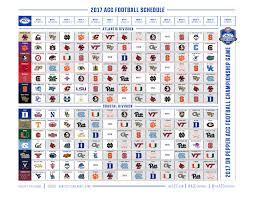 2017 nfl schedule release 2017 clemson football schedule is released