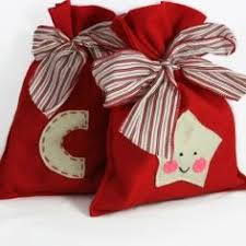 cloth gift bags diy reusable gift bag it s the most wonderful time of the year