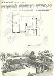 mid century house plans new 1960s small house plans home design