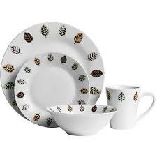 elm design crockery stoneware dining dinner service sets leaf