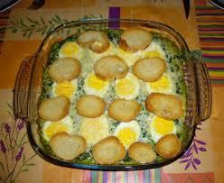 cuisiner oeufs épinards et oeufs durs à la béchamel recette de épinards et