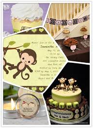 monkey decorations for baby shower monkey baby shower ideas 2013 baby shower invitations