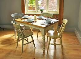 farmhouse table 5 u0027x3 u2032 painted legs fawley cream with an