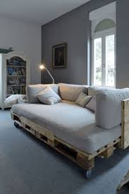 Diy Wooden Couch Best 25 Pallet Futon Ideas On Pinterest Futon Ideas Futon
