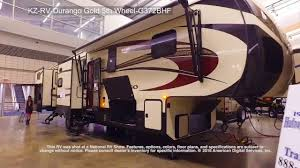 durango 5th wheel floor plans kz rv durango gold 5th wheel g372bhf youtube
