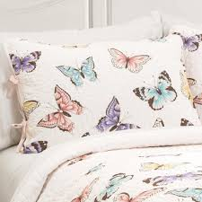 girls frilly bedding butterfly kisses girls ruffle quilt bedding set u2013 gogetglam