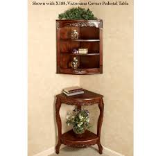 Antique Corner Curio Cabinet Furniture Antique Curio Cabinets With Shelves And Glass Door For