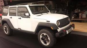 2018 jeep wrangler interior fully revealed leaked 2018 jl wrangler clay models and roof design