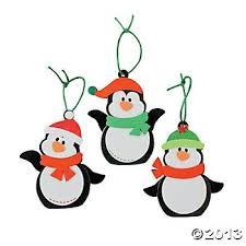 penguin foam ornament craft kit craft kits