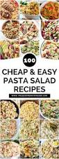 Best Pasta Salad Recipe by Best 25 Pasta Salad Recipes Ideas On Pinterest Pasta Salad