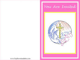 free printable baby baptism invitation templates