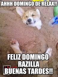 Ahhh Meme - ahhh domingo de relax perrito relajado meme on memegen