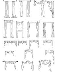 Types Of Curtains All Sorts Of Different Types Of Draperies And Ways To Hang Them