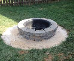 How To Build A Backyard Firepit by How To Build A Diy A Backyard Fire Pit 11 Magnolia Lane