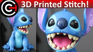 3d printed stitch figure disney u0027s lilo u0026 stitch