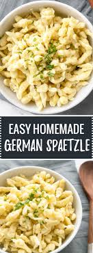 cuisiner des spaetzle easy german spaetzle recipe ready in only 15 minutes and a great