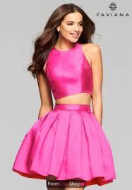 graduation dresses hot pink dresses at prom dress shop