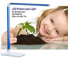 Natural Light Desk Lamp by Eyesight Protection 3 Steps Dimming Led Reading Lamp 5000k Natural