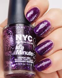 holiday glitz with nyc new york color nail polish be happy and