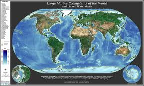 Uri Map Noaa 200th Top Tens Breakthroughs Large Marine Ecosystems Map