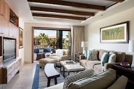 Tv Room Sofas One Bedroom Residential Suite The Ritz Carlton Rancho Mirage